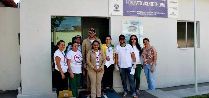 Secretaria de Saúde de Alagoinha do Piauí intensifica campanha de vacinação