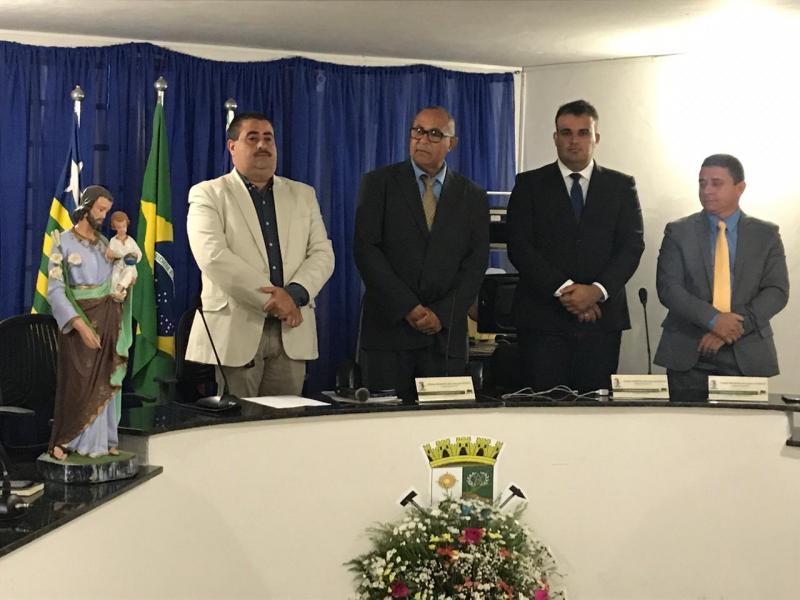 Sessão solene marca abertura do ano legislativo na Câmara de Lagoa do Piauí
