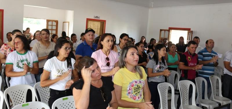 Semana Pedagógica é realizada em Jacobina do Piauí