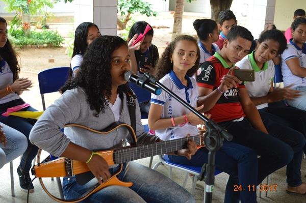 Roda de conversa Colônia para as juventudes na Escola CEEPRU em Colônia do Gurguéia-PI