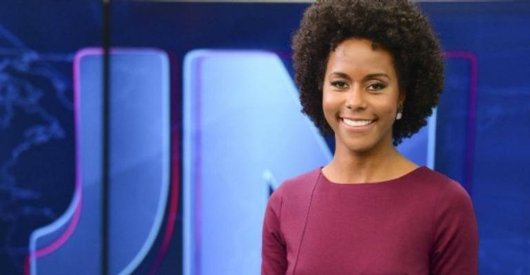 Maju Coutinho comemora nas redes sociais sua estreia no Jornal Nacional