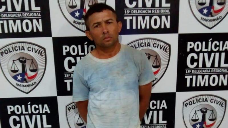Condenado por estupro da enteada de 5 anos é preso pela Civil/Timon