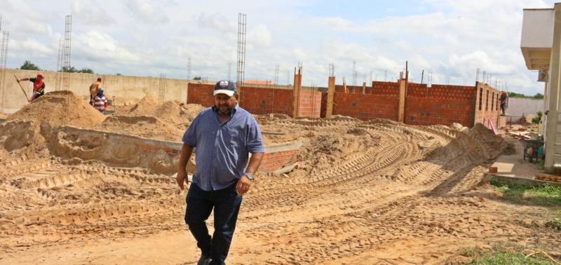 Prefeitura investe R$ 368 mil na construção de nova escola para a educação