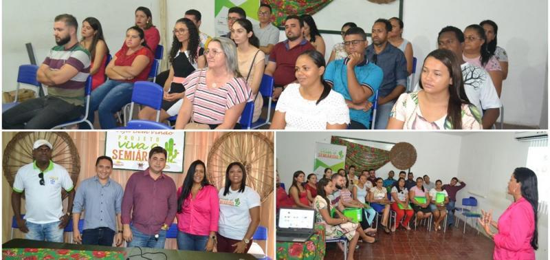 Município recebe formação do Projeto Viva o Semiárido