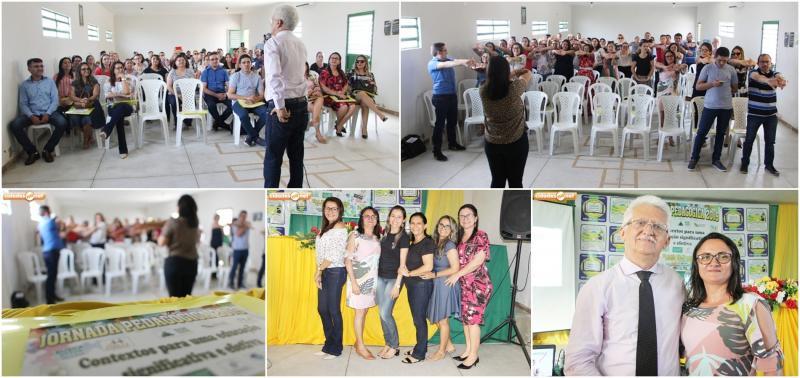 Palestras marcam abertura de Jornada Pedagógica