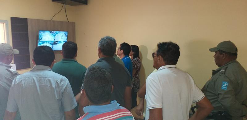 Prefeitura de Landri Sales implanta Sistema de Monitoramento de Câmeras