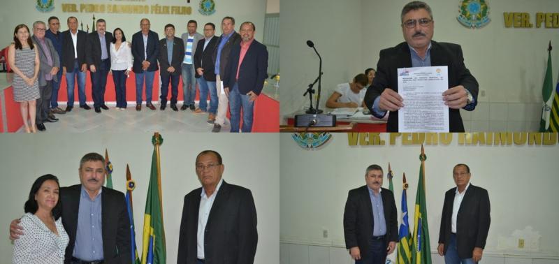 Câmara municipal realiza abertura dos trabalhos legislativos
