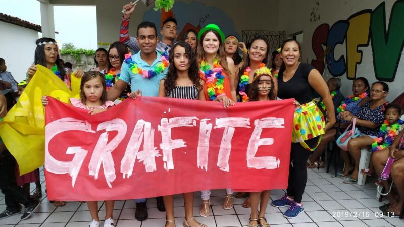 SEMASC realiza carnaval com crianças e jovens atendidos pelo SCFV