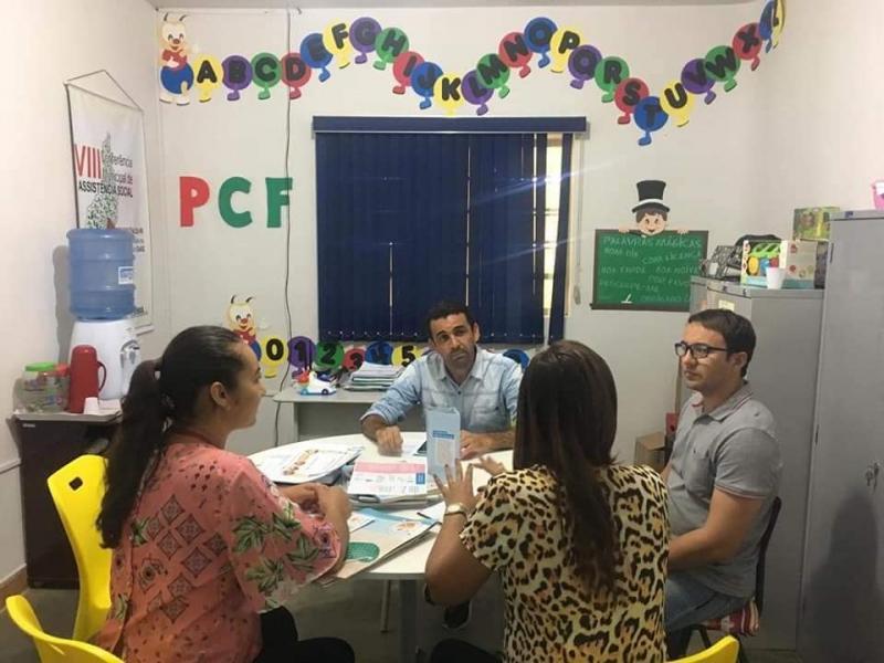 Reunião foi realizada para traçar estratégias referente a uma Campanha