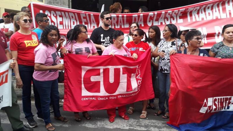 Protestos contra a Reforma da Previdência acontecem em Teresina
