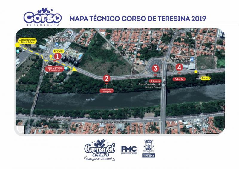 Trânsito de Teresina será alterado no dia do Corso; confira