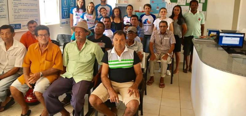 Equipe do PSF realiza ações da campanha Novembro Azul no povoado Ingazeira