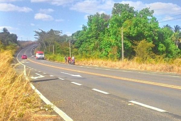 Colisão deixa dois feridos na BR 343 próximo a Lagoinha do Piauí