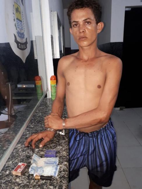 CIPTUR cumpre mandado da justiça e prende ARONE acusado de vários furtos