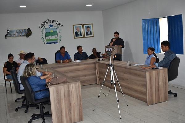 Câmara Municipal de Assunção do Piauí abre ano legislativo