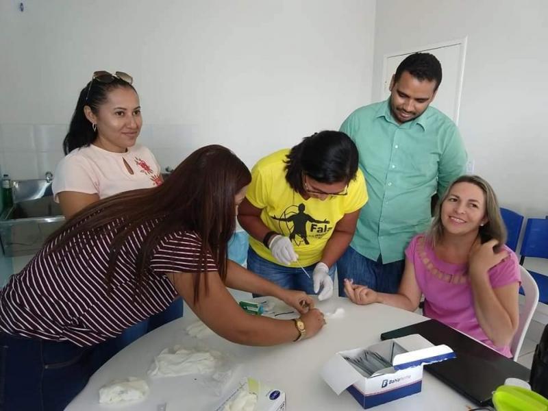 Secretaria realiza treinamento com os técnicos em enfermagem da ESF