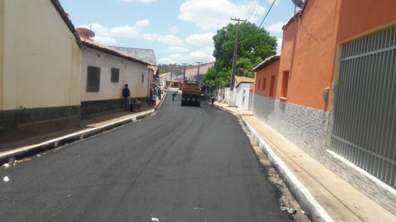 Histórico: Matias Olímpio recebe pavimentação asfaltica