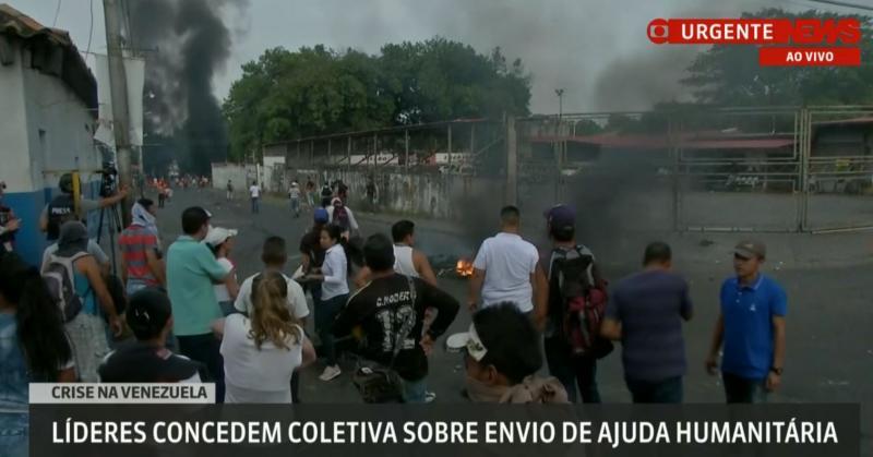 Ao vivo: Manifestantes protestam na Venezuela