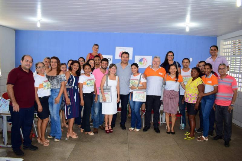 Campo Largo-PI | Pref. Rômulo Aécio prestigia Jornada Pedagógica 2019
