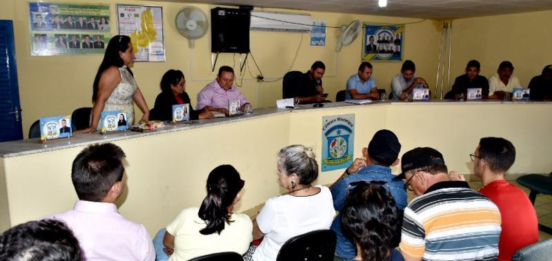 1ª sessão ordinária de 2019 foi realizada em Vila Nova