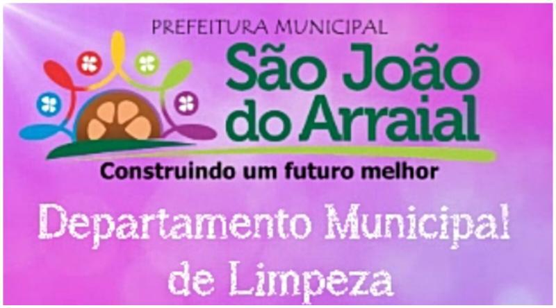 Confira o cronograma de coleta de lixo em São João do Arraial