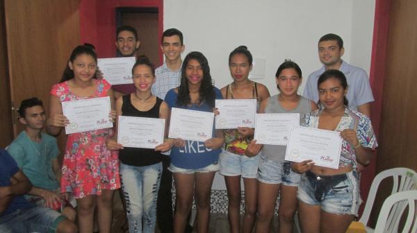 PCenter Realiza Solenidade de Entrega de Certificado de Conclusão de Curso de Informática Básica