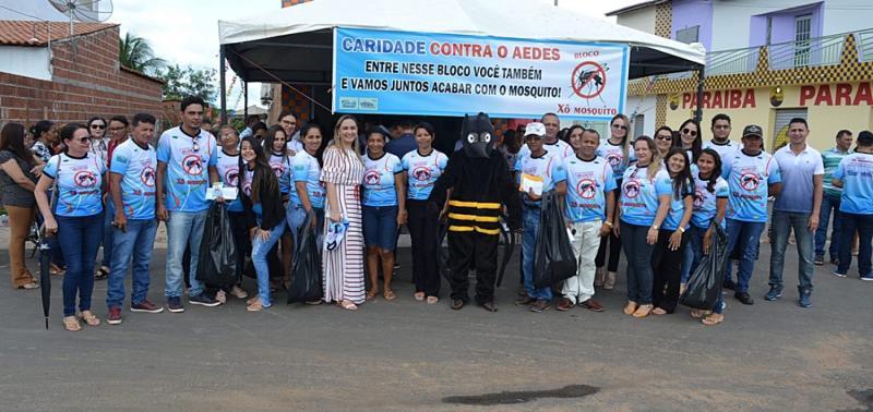 Secretaria de Saúde realiza campanha contra o Aedes Aegypti