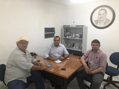 Prefeito Netinho se reúne com o deputado Georgiano Neto