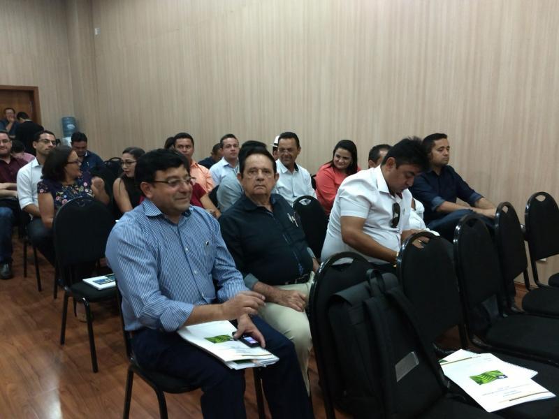 Dr. Wagner Coelho prefeito de Uruçuí participa do II Encontro de Gestores Municipais