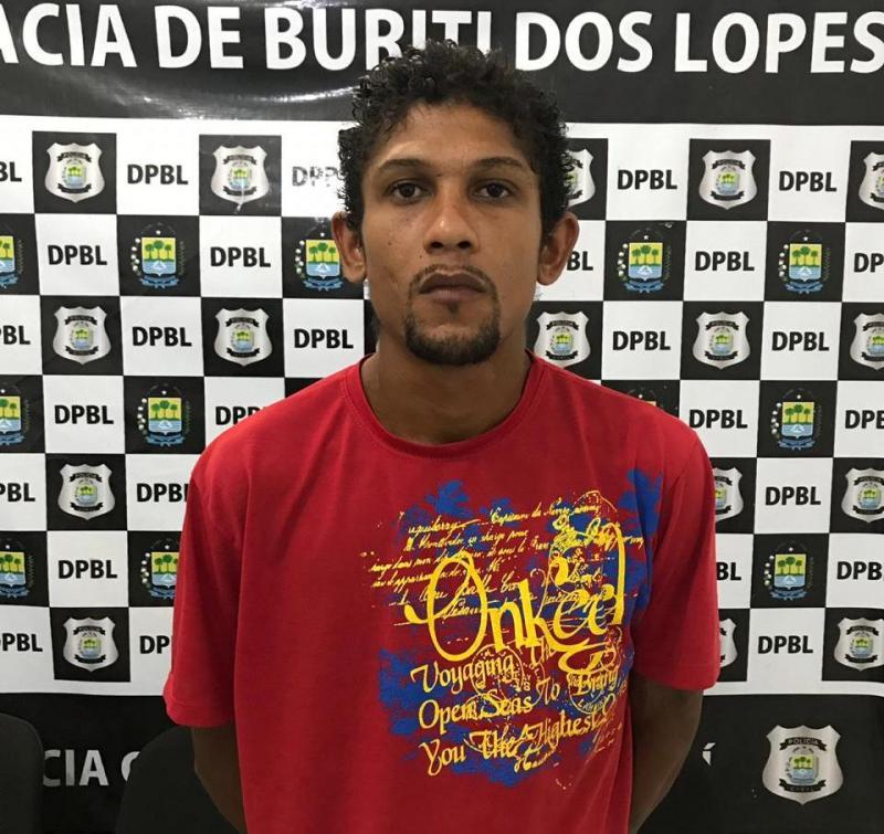 """Policia civil de Buriti dos Lopes cumpre mandado de prisão contra """"te vira"""""""
