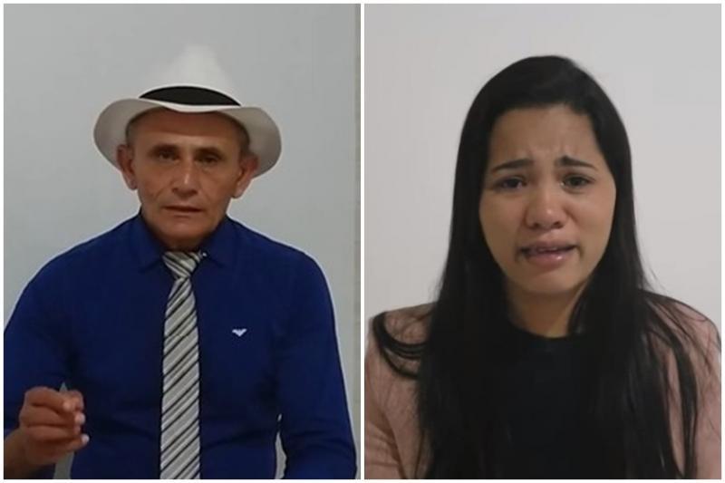 """Ex-marido de Stefhany Absoluta solta o verbo: """"Casei com o Satanás"""""""