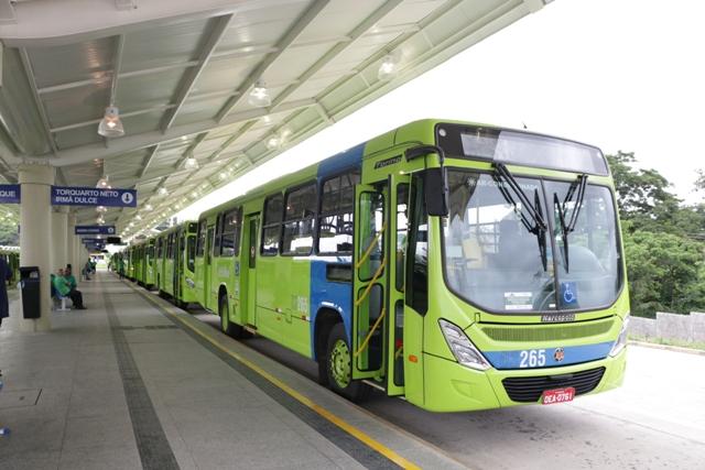 Frota de ônibus de Teresina será reduzida durante o Carnaval