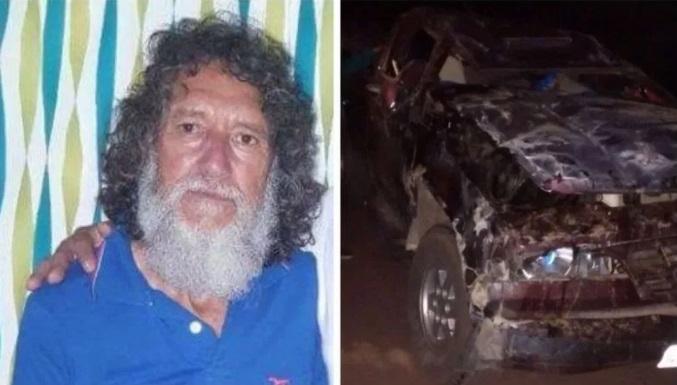 Ex-suplente de vereador morre após capotar carro no Piauí