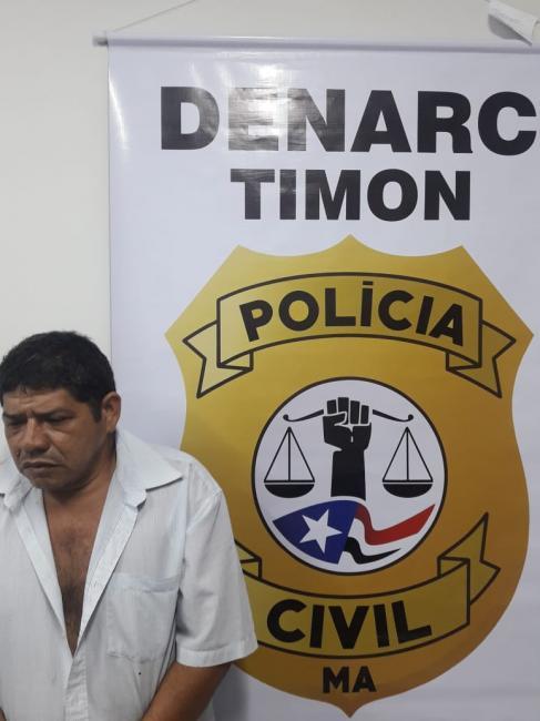 DENARC/Timon prende 'Nenem do Esporão' acusado de tráfico de drogas
