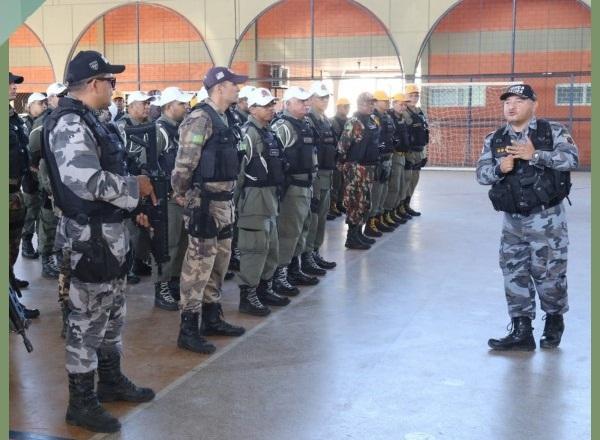 Tropas são enviadas para reforçar policiamento no interior do Piauí