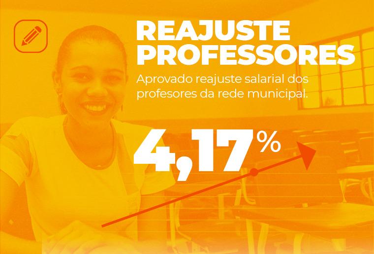 Salário dos professores da rede municipal de Timon é reajustado em 4,17%