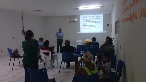 Reunião do Fundo Previdenciário de Colônia do Gurgueia