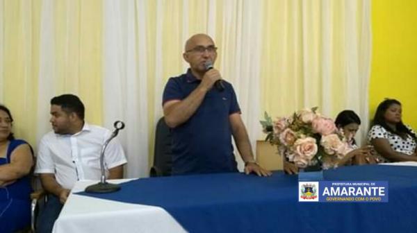 Prefeitura de Amarante realizou I Conferência de Saneamento Básico