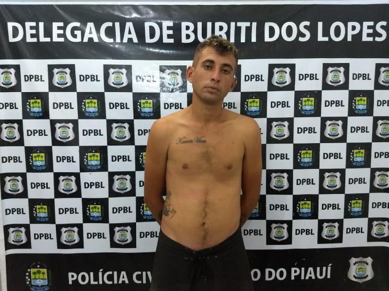 Policia Civil do Piauí cumpre mandado de prisão por trafico de drogas