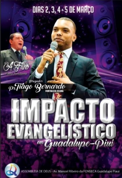 Assembleia de Deus divulga a programação do Impacto Evangelístico