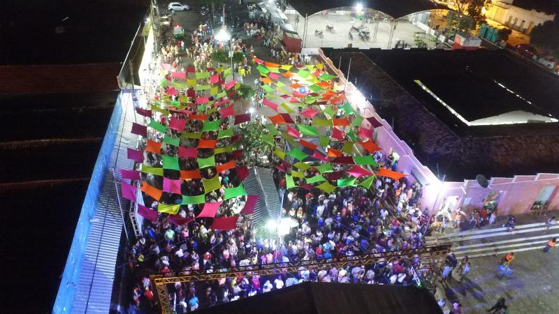 Carnaval com muita animação e segurança em Barro Duro