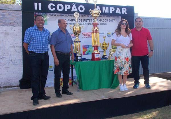 Presidente da AMPAR, Prefeito Júnior Carvalho encerra 'Copão' entre municípios