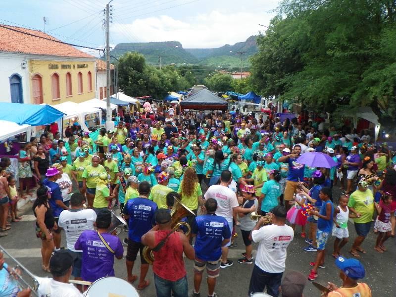 Prefeitura realizou carnaval para Idosos e crianças de Amarante