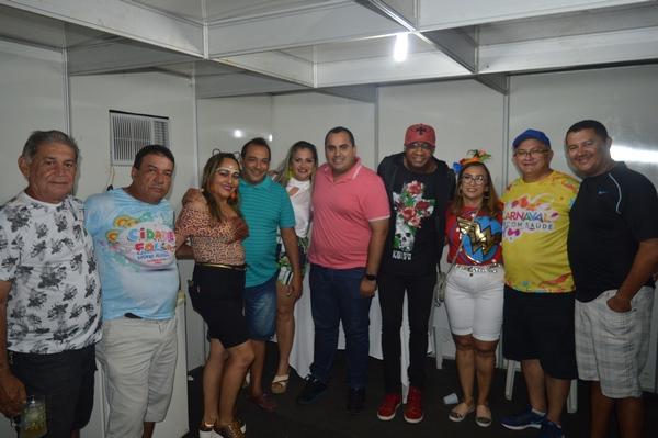 Deputado Georgiano Neto prestigia atividades do Carnaval em Guadalupe