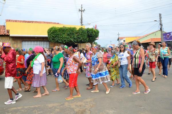 Angical do Piauí promoveu festa de carnaval da Melhor Idade