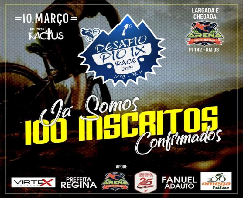 1º Desafio Pio IX Bike Race ocorre no próximo domingo