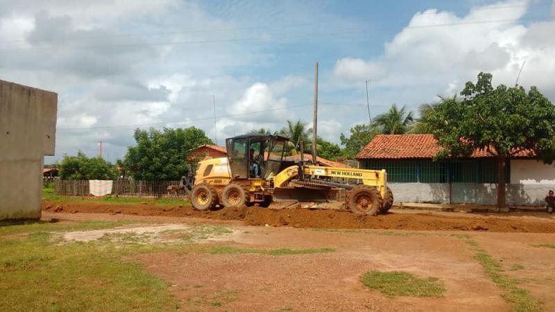 Prefeitura melhorou ruas e estradas de comunidades rurais