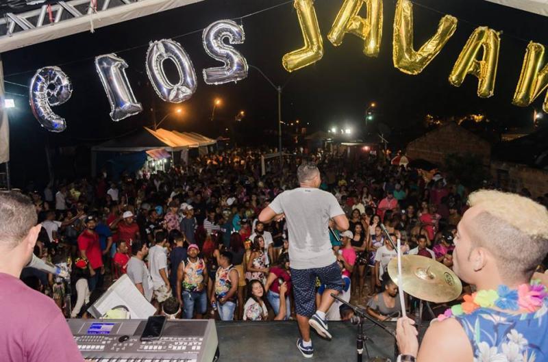 Sucesso total o Carnaval 2019 em Santa Filomena