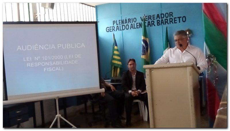 Prefeitura Municipal de Inhuma realiza Audiência Pública para Prestação de Contas