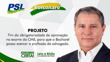 Pastor Mauro Silva aproveita o vácuo da saída de Fábio Sérvio e assume PSL